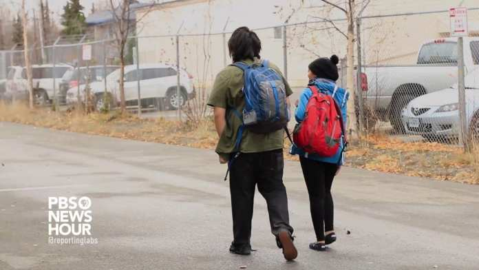 Alaskan youth outreach worker helps teens experiencing homelessness
