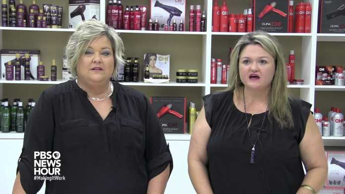 This Texas cosmetology school trains high schoolers for alternative jobs