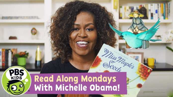 READ ALONG with MICHELLE OBAMA! | Miss Maple's Seeds | PBS KIDS