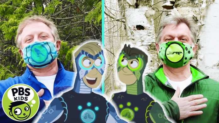 Wild Kratts | Wear a Mask Like the Wild Kratts! | PBS KIDS