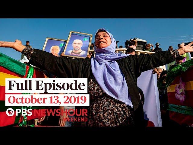 PBS NewsHour Weekend full episode October 13, 2019