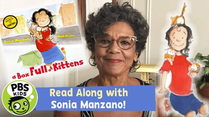 READ ALONG with SONIA MANZANO | A Box Full of Kittens | PBS KIDS