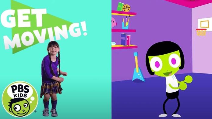 PBS KIDS: Get Moving! | Hip, Hip Hooray!