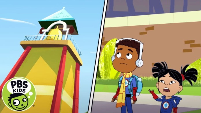 Hero Elementary   Get to the Bell Tower!   PBS KIDS