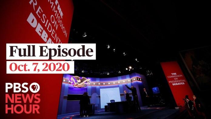 PBS NewsHour full episode, Oct. 7
