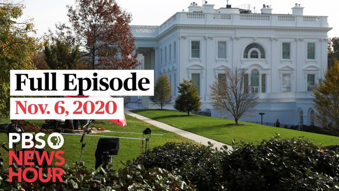 PBS NewsHour full episode, Nov. 6, 2020
