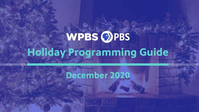 WPBS-TV Holiday Programming Guide 2020