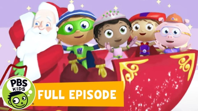 SUPER WHY! FULL EPISODE | Twas the Night Before Christmas | PBS KIDS