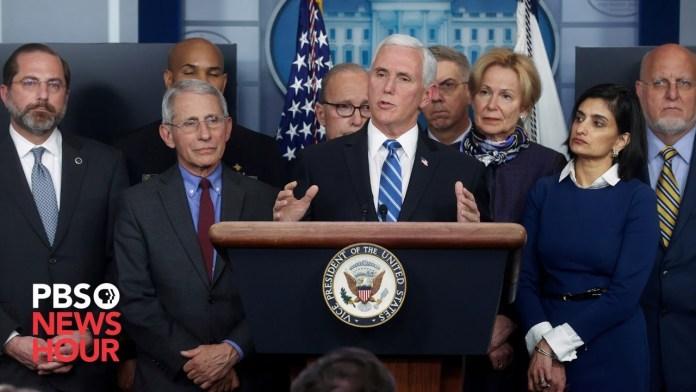 WATCH: White House coronavirus task force briefing – Nov. 19, 2020