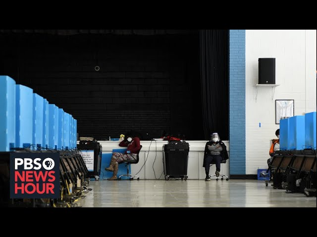 WATCH: Georgia secretary of state gives vote count update