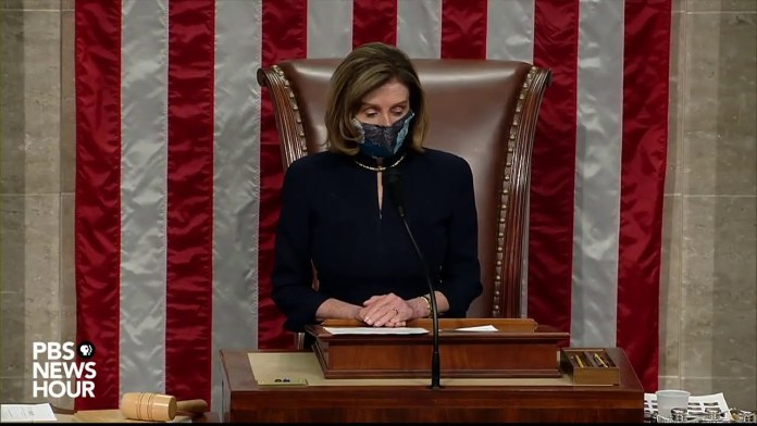 WATCH: House officially impeaches Trump for a second time