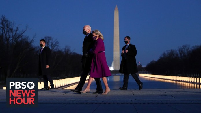 Tribute held in in nation's capital for those lost to the pandemic
