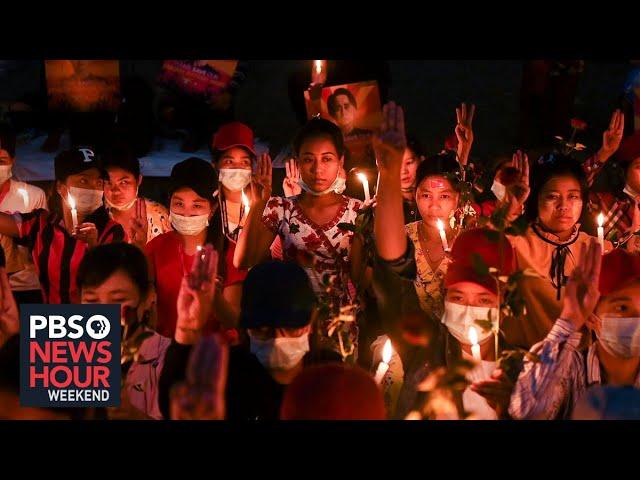 Blocking roads, banging pots: Myanmar protests continue despite military crackdown