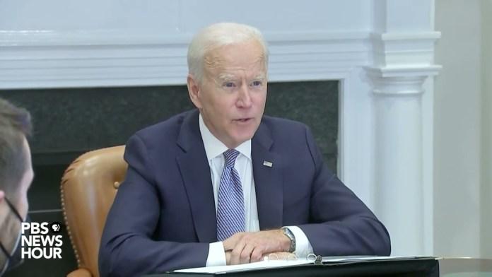 WATCH: Biden holds virtual CEO summit on supply chains