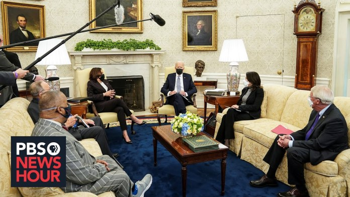 Biden's bipartisanship: What we learned from the president's meeting with lawmakers