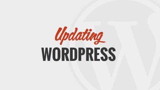 Updating WordPress Version