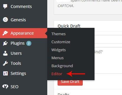 Edit Style Sheet CSS