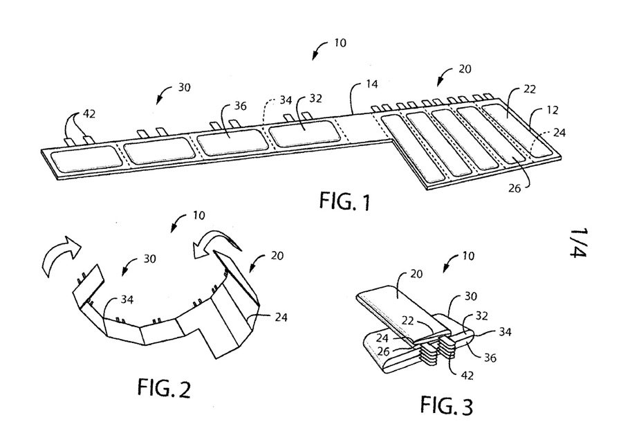 Nokia Foldable Battery Patent