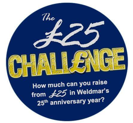 Weldmar's £25 Challenge