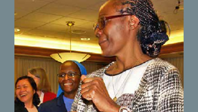 Province Welcomes Marie-Thérèse Gnamazo, of Cameroon, to the Novitiate