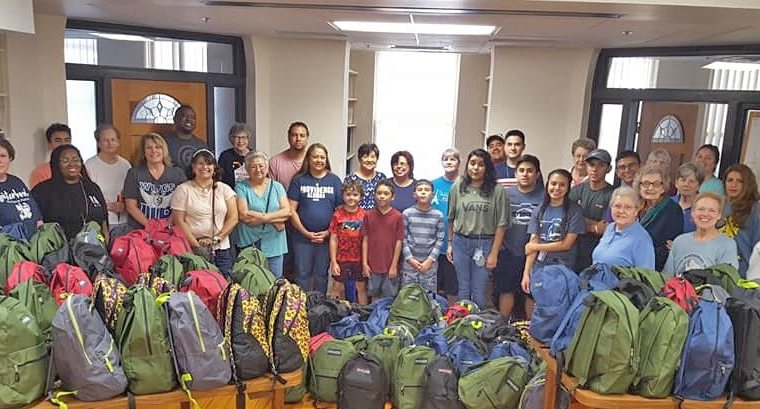 More than a Labor of Love: Backpacks for Refugee Families