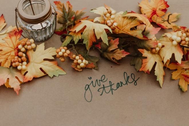 Sharing a Thanksgiving Reflection