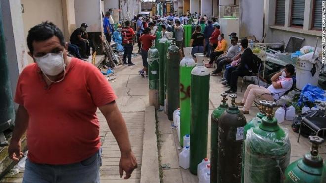 Oxygen for Carabayllo, Peru