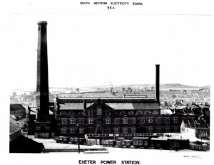 SWEHS 11.0.020.jpg - Date 1948 - Haven Road generating station. Devon, Exeter .