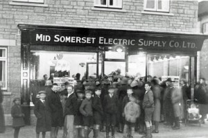 SWEHS 13.0.008.jpg - Date c1935 - Mid Somerset Electric Supply Co. Ltd. Showroom opening day. Unknown .