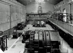 SWEHS 15.0.045.jpg - Date 1929 - Devonport Corporation Electricity Works, Newport Street generating station converted to rotary substation. Devon, Devonport .
