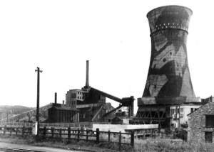 SWEHS 18.2.020.jpg - Date c1940s - Newton Abbot generating station wartime picture. Devon, Newton Abbot .