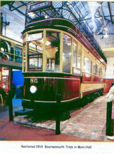 Bournemouth Tram No.85