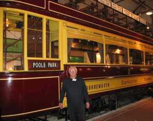 Tram No 85 at the SEB Museum Christchurch