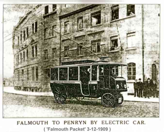 Electric Railless Car 1909
