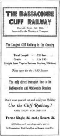 Babbacombe Leaflet Part1