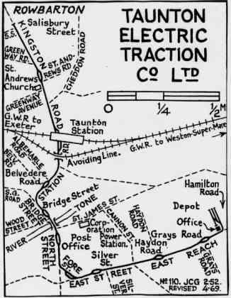 Taunton Track Layout