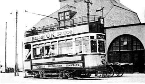 Plymouth Open Top Tram
