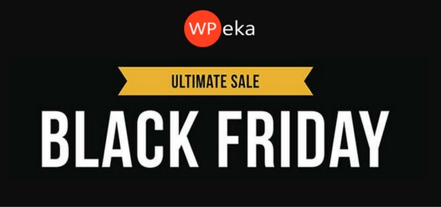 WPEka Coupon 30% Off on Black Friday and Cyber Monday Latest