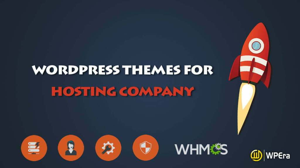 10  Best WordPress Themes for Web Hosting Company with WHMCS Integration