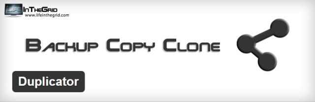 Duplicator WordPress Backups Plugin