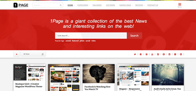 1page-pinterest-wordpress-theme