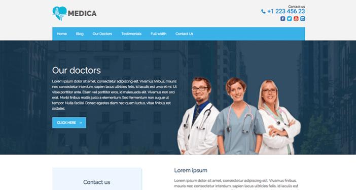 Medica PRO Salud y Medicina Tema de WordPress