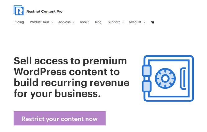 Restreindre le plugin d'adhésion WordPress Content Pro