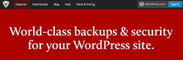 VaultPress for WordPress