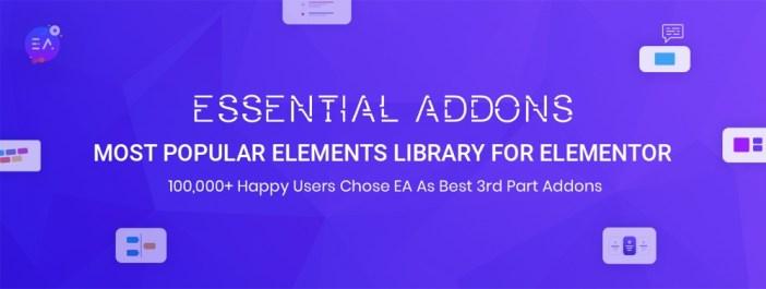 Addons esenciales para Elementor
