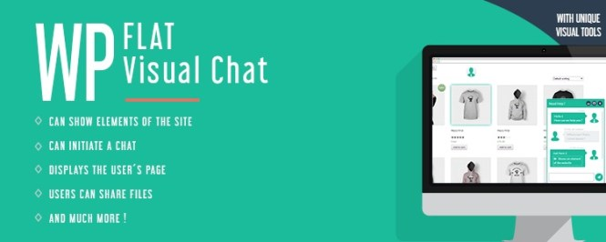 WP Flat Visual Chat Premium Plugin WordPress