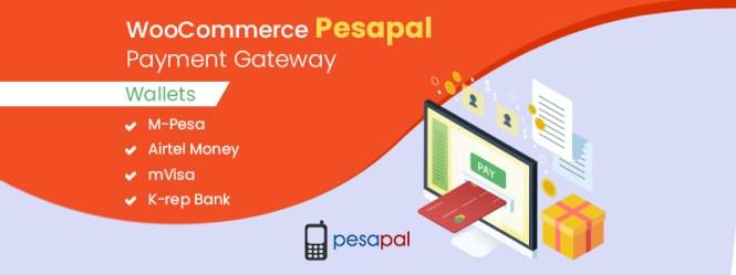 Passerelle de paiement WooCommerce Pesapal