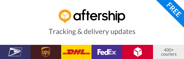 AfterShip WooCommerce Tracking Бесплатный плагин для WordPress