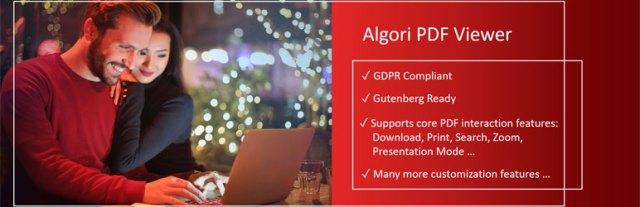 Algori PDF Viewer Plugin