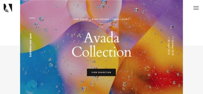 Galerie de thèmes WordPress Avada